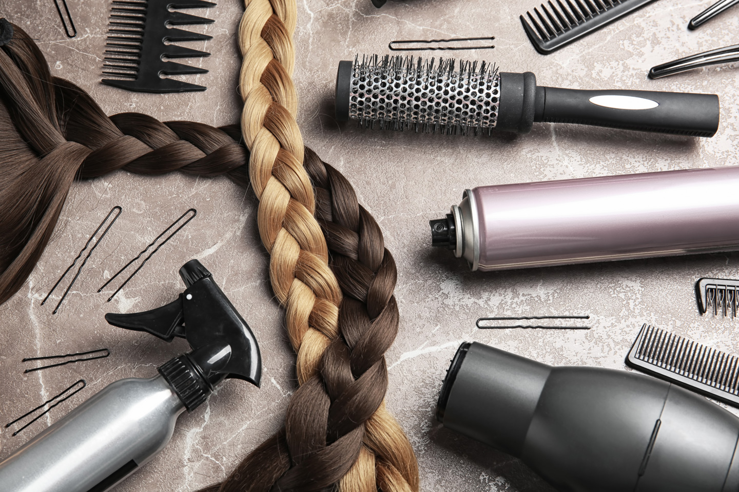 The materials you will use for braiding are affordable